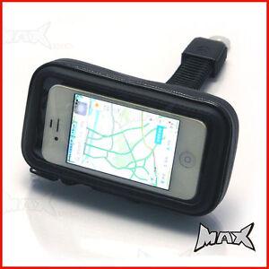 IPHONE 4 / 5 Motorcycle Handlebar + Mirror Mount Waterproof Holder