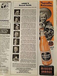 1944-Mission-orange-soda-bottle-American-little-girl-Straw-Hat-fruit-basket-ad