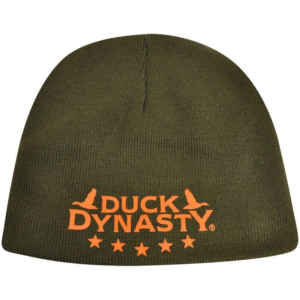 Duck Dynasty Wendbar ohne Bund A&e TV Serien Strick Beanie Haube Tarnfarbe Hut