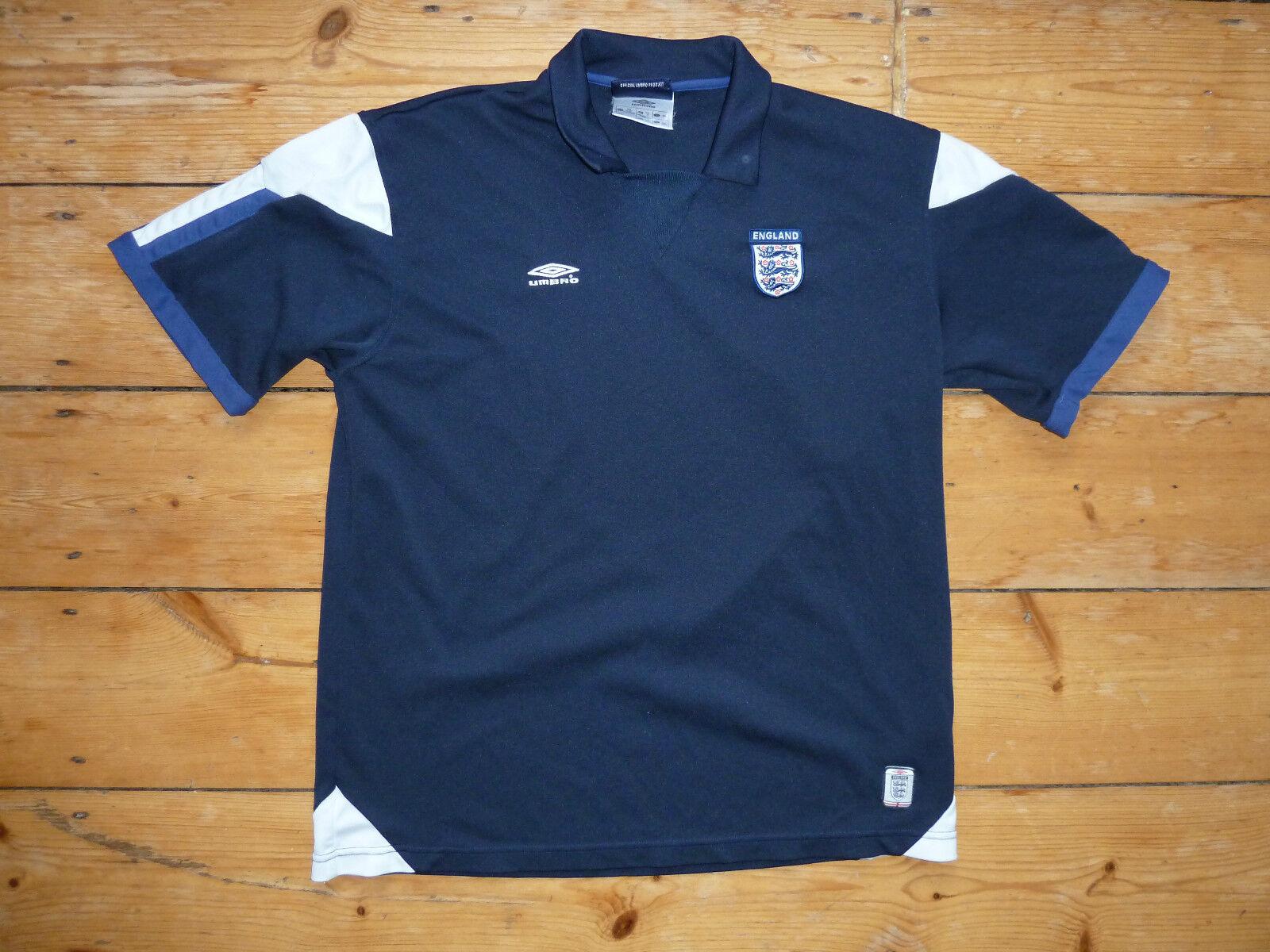 England Fußball Shirt XL 1998 England Fußball Trikot Maglia Camiseta Euro 16