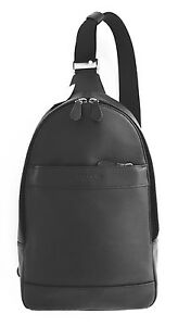 71eaf013ae53 Image is loading NWT-COACH-CHARLES-PACK-IN-SMOOTH-LEATHER-in-