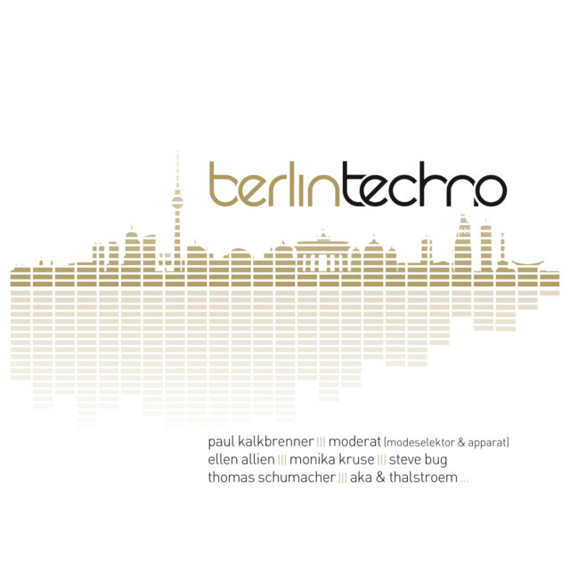 CD Berlin Techno von Various Artists