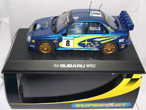Superslot H2491 Subaru Impreza Wrc # 8 2003 Mäkinen-Lindström Scalextric Ru Mb