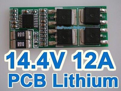4S Li-ion Lithium Battery Input Ouput Protection Board PCB 14.4V 14.8V 16.8V 12A