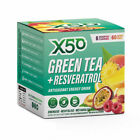 X50 Green Tea and Resveratrol Weight Loss Drink, 60 Serve Pack - Assorted Flavours