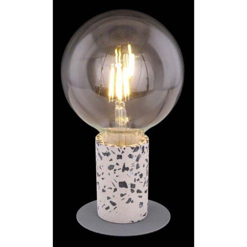 Design Schreib-Tisch Lampe Leuchte Terrazzo-Stein Beleuchtung Büro Flur Diele