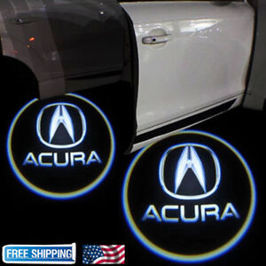 For ACURA TLX RLX MDX TL ZDX LED Laser Door Logo Ghost Shadow - Acura symbol for car