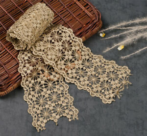 3-7-034-Bridal-Lace-Edging-Gold-Floral-Wedding-Trim-Embroidery-Corded-Lace-Trim-1-Y