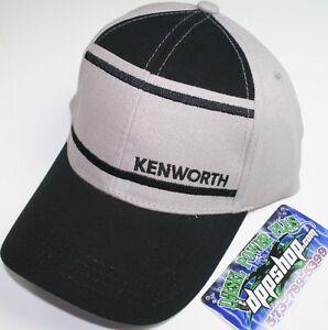 c058b638 kenworth base ball cap KW tractor semi diesel trucker hat ballcap ...
