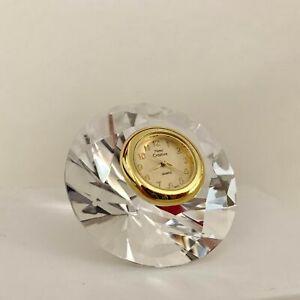 Miniature-Crystal-Diamond-Clock-Hand-Crafted-Vintage-Shelf-Desk-Decoration
