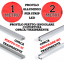Profilo-Alluminio-Piatto-Angolare-Copertura-Opaca-Trasparente-1-metro-o-2-metri