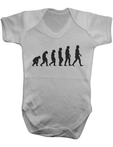 Evolution Baby Bodysuit Baby Grow-Silkscreen Baby One Piece 100/% Cotton