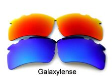 Galaxy Replacement Lenses for Oakley Flak 2.0 XL Vented Sunglasses Blue/red