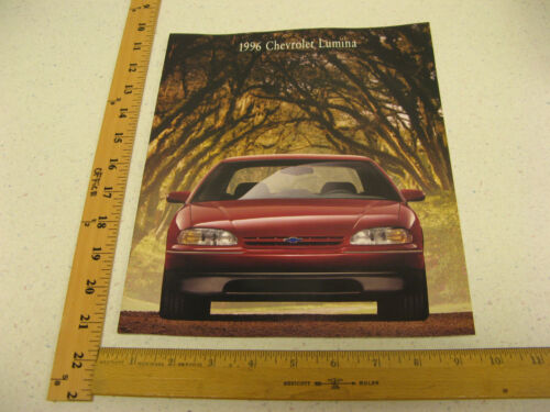 1996 96 Chevrolet Chevy Lumina Sales Brochure Literature Catalog 22 Pages