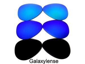 a97b6659e4a7a La foto se está cargando Galaxy-Lentes-de-repuesto-para-aviador-de-Ray-