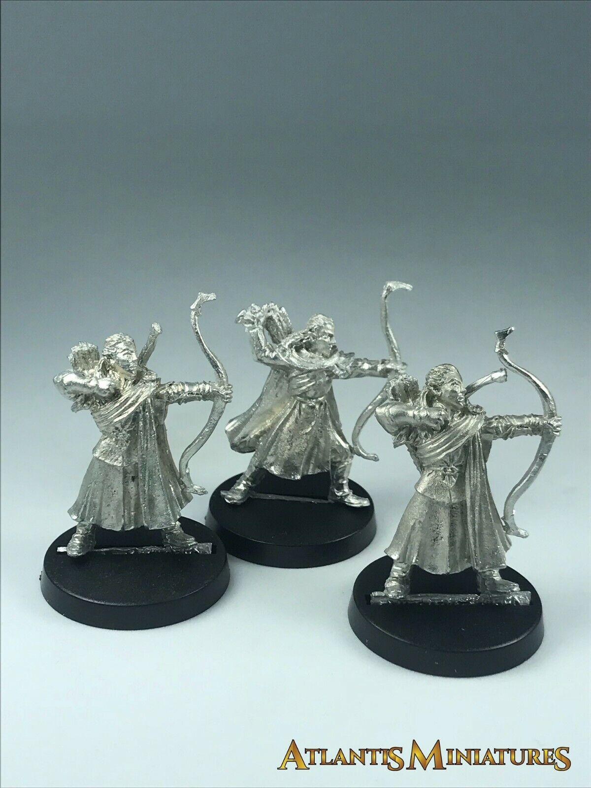 Metal Lothorien Bowmen X3 - OOP - LOTR   Warhammer   Lord of the Rings X460
