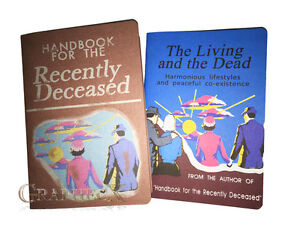 Handbook for the Recently Deceased Living and the Dead inspired cosplay journal