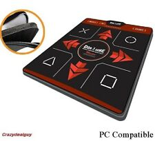 Deluxe Master 1 inch foam DDR Dance Pad Mat for PS3 and USB PC