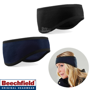 New BEECHFIELD Supra Fleece Soft Warm Ski Beanie Hat in 7 Colours One Size