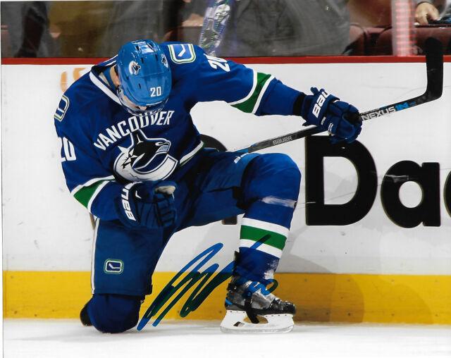 Vancouver Canucks Brandon Sutter Autographed Signed 8x10 NHL Photo COA R