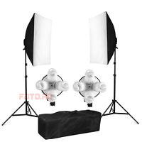 Profi 1520W Fotostudio Set Softbox Studioleuchte Studiolampe mit Tasche※