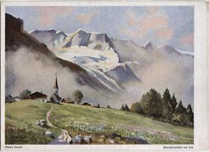Alte-Kunstpostkarte-Hans-Saum-Abtenau-im-Tennengebirge