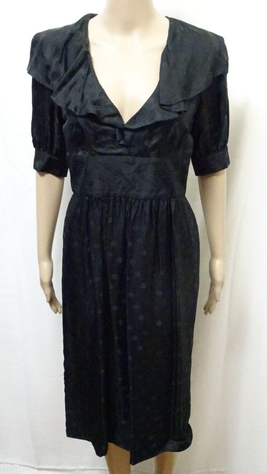 ZIMMERMANN DRESS damen  Größe 1 OR 10  EXC COND W  DOTS DESIGN CASUAL BUSINESS