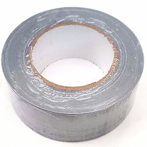 Strong-Duct-Gaffa-Gaffer-Waterproof-Cloth-Tape-Silver-Duck-50mm-x-50m-1-Roll
