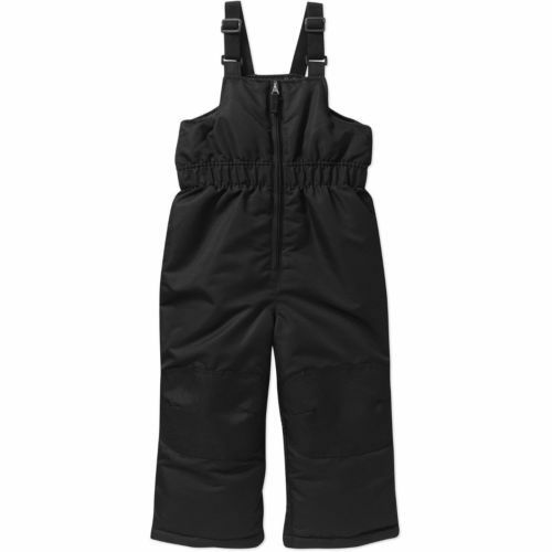 Snow Bibs Toddler snow bibs Boys Girls Outerwear Black Pink Healthtex Bibs 2T-4T
