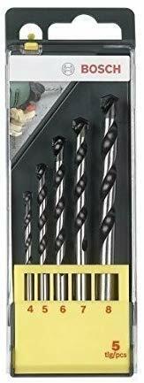 BEST Bosch 5pc Concrete Drill Bit Set This Bosch 5 Piece Tungsten Carbid UK FAS