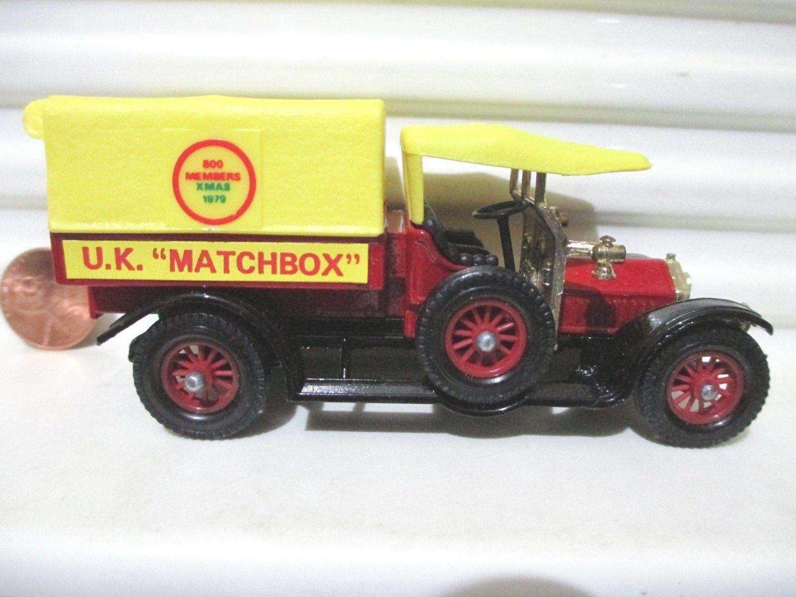Lesney Matchbox Models of Yesteryear Y13C UK MATCHBOX 1918 Crossley RAF Tender