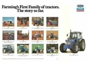 """1953 NEW HOLLAND TRACTORS AD PRINT WALL POSTER PICTURE 33.1""""x23.4"""""""