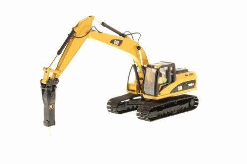 85280 cat 320d l excavator w hammer, 1 50 cat