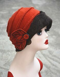 womens vintage 1920s gatsby style wool