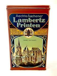 Aechte-Aachener-Lambertz-Printen-Collectible-Tin-Made-in-Western-Germany