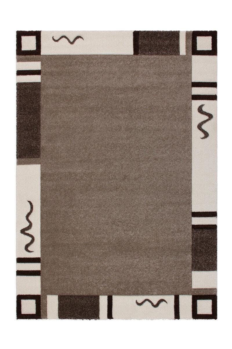 Teppich Moderne Teppiche Relief Flachflor Designer Beige Hellbraun Hellbraun Hellbraun 200X290cm d43b57