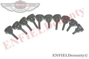 Fronthaube-GRILL-Haube-KUHLER-RUBBER-10-Einheiten-Fuer-FORD-FARMTRAC-TRAKTOR