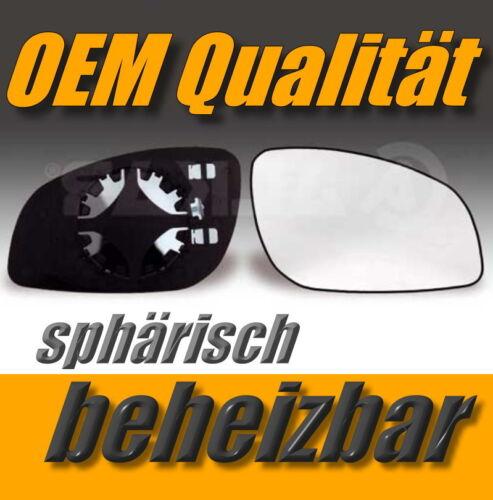 Vidrio pulido Opel Vectra C//signum a partir de 02 derecha Indutherm exterior espejo