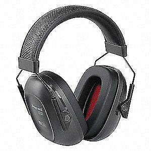 HONEYWELL HOWARD LEIGHT Ear Muffs,Headband,Black,24dB 1035100-VS