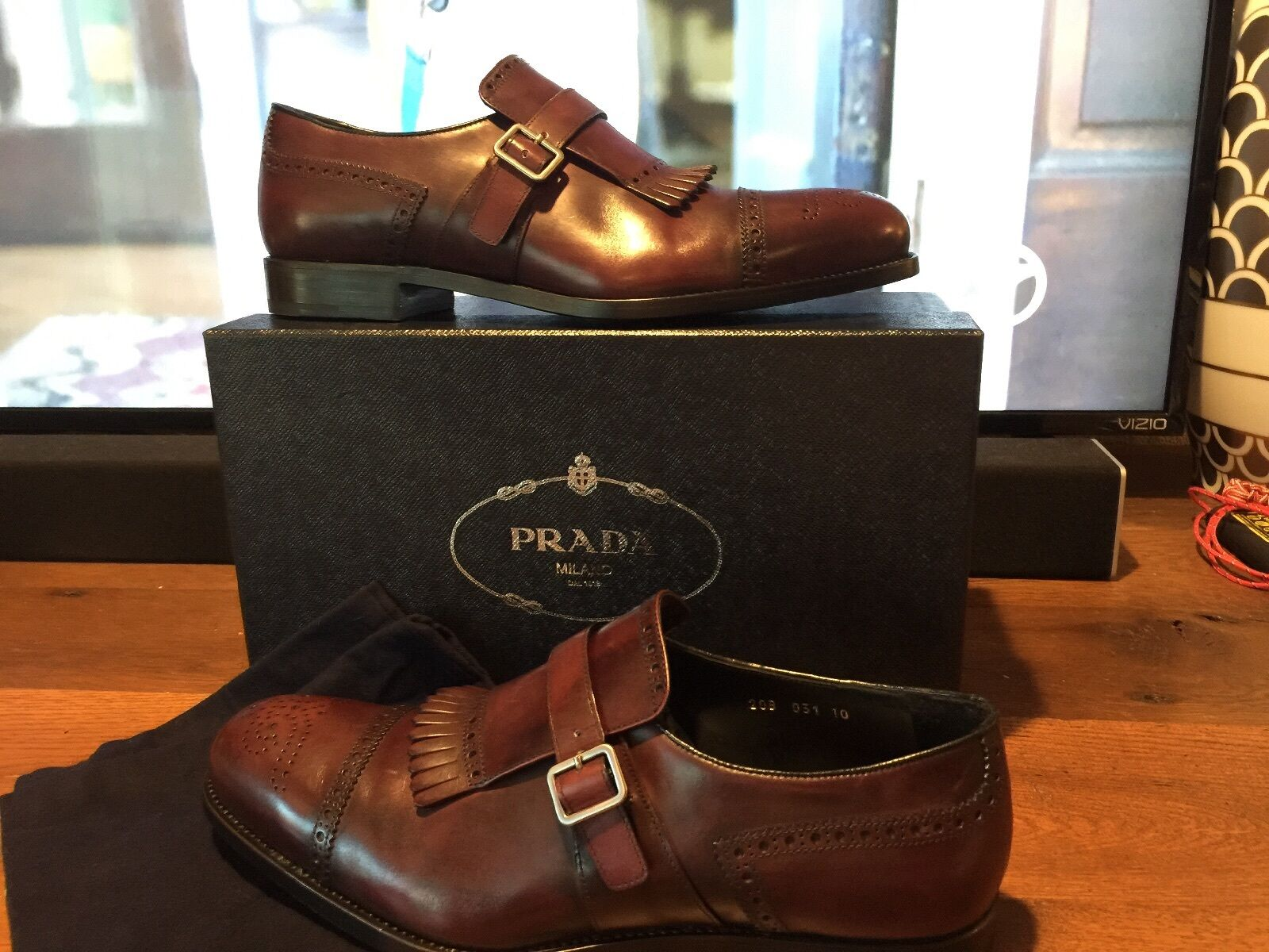 Man's/Woman's Prada Mens Shoes Charming design Online Different goods