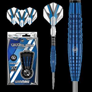 Winmau-Vanguish-Blue-Titanium-Nitride-Coated-90-Tungsten-Darts-in-23gram