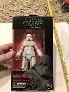 Star Wars The Black Series #64 gamme Trooper 6-inch Action Figure