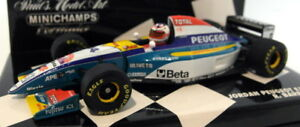 Minichamps-F1-1-43-Scale-430-950014-Jordan-Peugeot-EJR-195-Barichello