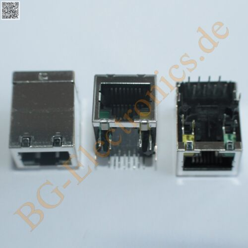 13.97mm 21mm 15.8m AMP  1pcs 1 x RJ45 Buchse mit LED Product Type Features