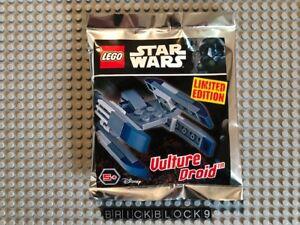 Vulture Droid #911723 minifigure Original LEGO Star Wars limited polybag