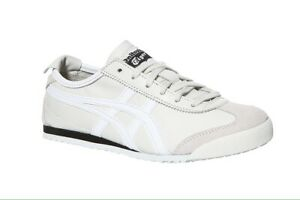 the best attitude 07061 26470 Details about Asics Onitsuka tiger Mexico 66 White Leather Trainers  D4J2L-9001