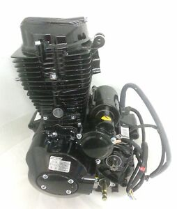 Details about ENG14 COMPLETE ENGINE FOR BASHAN BS200S-3, 200CC AIR COOLED  (167FML) QUAD BIKE