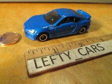 TOMICA 2014 Blue SUBARU BRZ Sports Car SCALE 1/60 - LOOSE CAR! NO BOX!