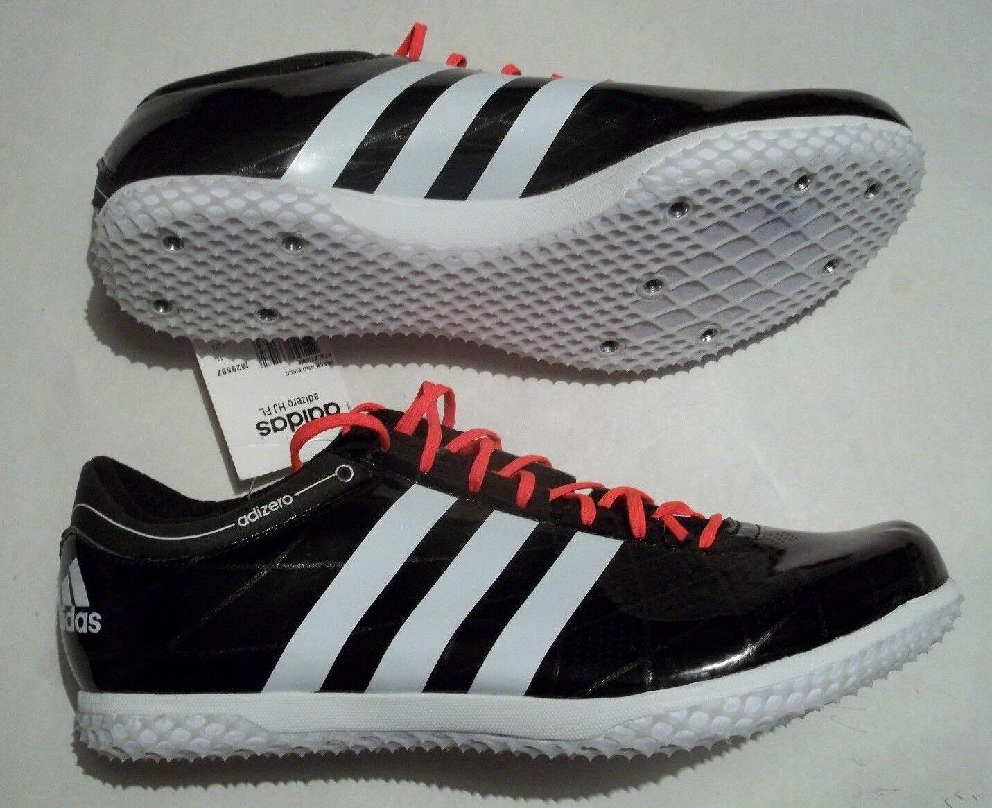 NWT Adidas Adizero HJ FL Men's Size 12.5 Track shoes Spikes & Tool Black M29587