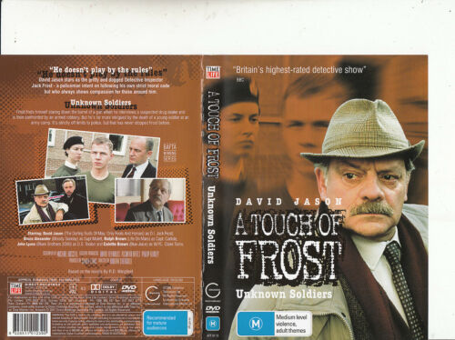 1 of 1 - A Touch of Frost-Unknown Soldiers [102 Min]-1992/10-TV Series UK-DVD
